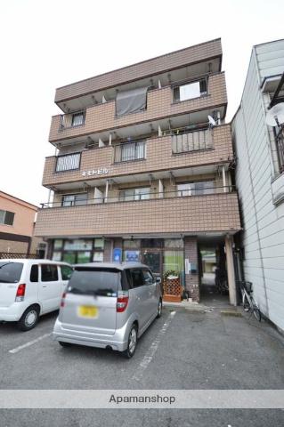 群馬県高崎市、北高崎駅徒歩10分の築30年 4階建の賃貸マンション