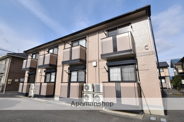 群馬県高崎市、倉賀野駅徒歩10分の築14年 2階建の賃貸アパート