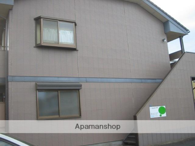群馬県高崎市、高崎駅バス20分神田病院前下車後徒歩8分の築23年 2階建の賃貸アパート