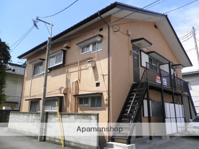 群馬県高崎市、高崎駅徒歩6分の築34年 2階建の賃貸アパート