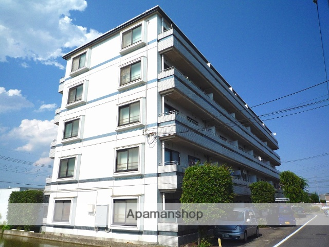 群馬県高崎市、高崎駅徒歩60分の築27年 5階建の賃貸マンション