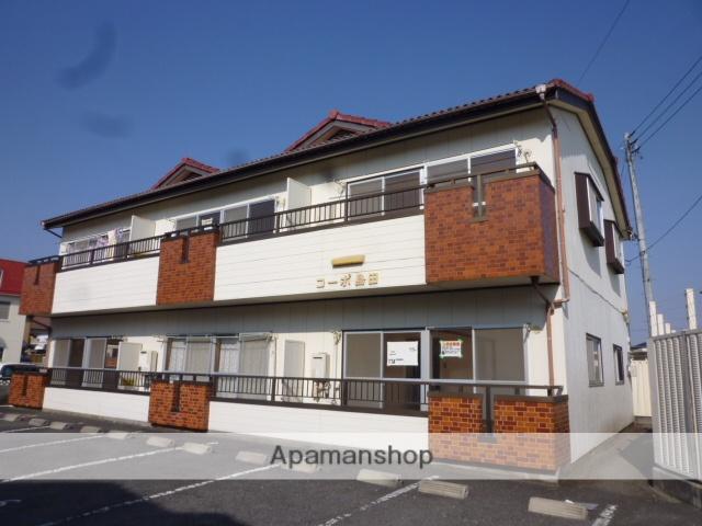 群馬県高崎市、高崎駅徒歩22分の築30年 2階建の賃貸アパート
