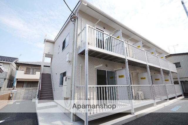 群馬県高崎市、高崎駅徒歩12分の築1年 2階建の賃貸アパート