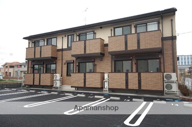 群馬県高崎市、倉賀野駅徒歩21分の築2年 2階建の賃貸アパート
