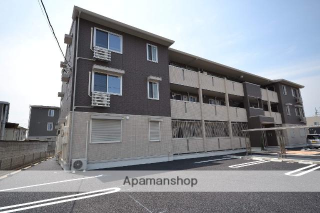 群馬県高崎市、高崎問屋町駅徒歩18分の築2年 3階建の賃貸アパート