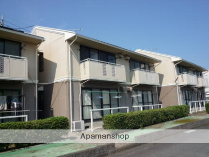 群馬県藤岡市、新町駅徒歩9分の築27年 2階建の賃貸アパート