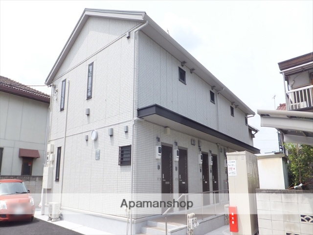 群馬県高崎市、高崎駅徒歩17分の築1年 2階建の賃貸アパート