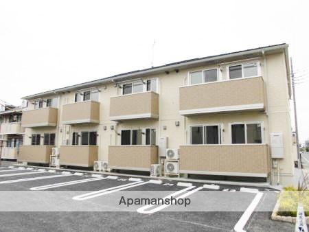 群馬県高崎市、高崎駅徒歩27分の築1年 2階建の賃貸アパート