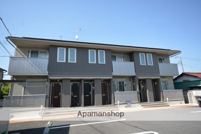 群馬県高崎市、新前橋駅徒歩46分の築2年 2階建の賃貸アパート