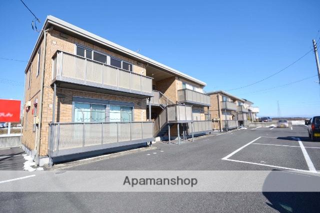 群馬県高崎市の築12年 2階建の賃貸アパート