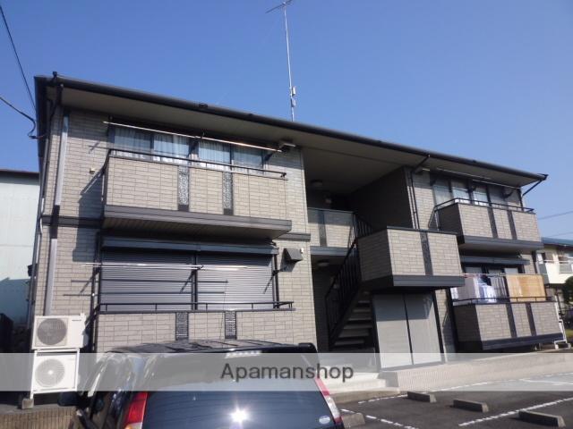群馬県高崎市、群馬八幡駅徒歩8分の築17年 2階建の賃貸アパート