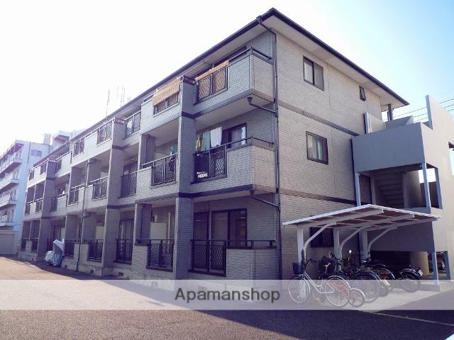 群馬県高崎市、北高崎駅徒歩25分の築20年 3階建の賃貸アパート