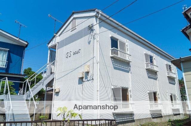 群馬県高崎市、高崎駅徒歩10分の築25年 2階建の賃貸アパート