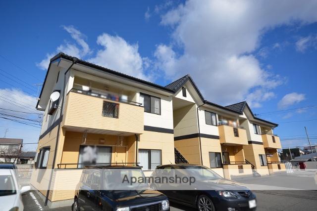 群馬県高崎市の築21年 2階建の賃貸アパート