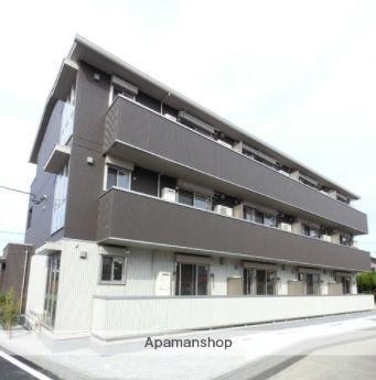 群馬県高崎市、北高崎駅徒歩15分の新築 3階建の賃貸アパート