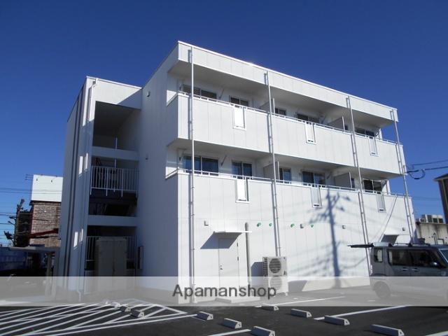 群馬県高崎市の新築 3階建の賃貸アパート