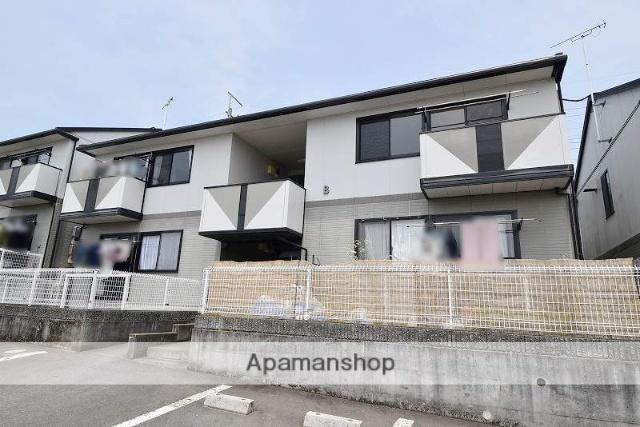 群馬県高崎市の築20年 2階建の賃貸アパート