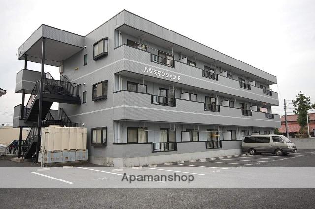 群馬県高崎市、北高崎駅徒歩29分の築21年 3階建の賃貸アパート