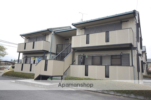 群馬県安中市、磯部駅徒歩16分の築23年 2階建の賃貸アパート