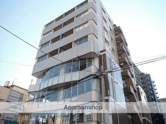 群馬県高崎市、高崎駅徒歩8分の築25年 9階建の賃貸マンション