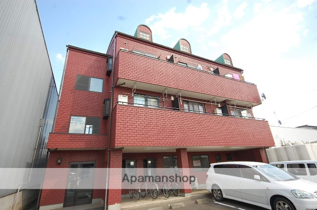 群馬県高崎市、井野駅徒歩35分の築16年 3階建の賃貸アパート
