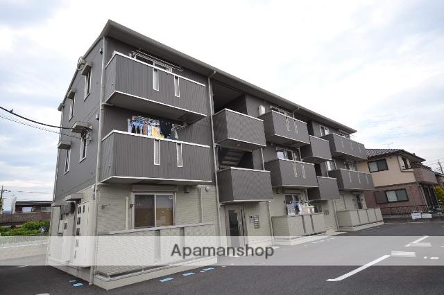 群馬県高崎市、北高崎駅徒歩30分の築4年 3階建の賃貸アパート