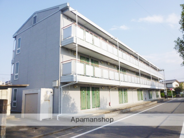 群馬県高崎市、南高崎駅徒歩22分の築20年 3階建の賃貸アパート
