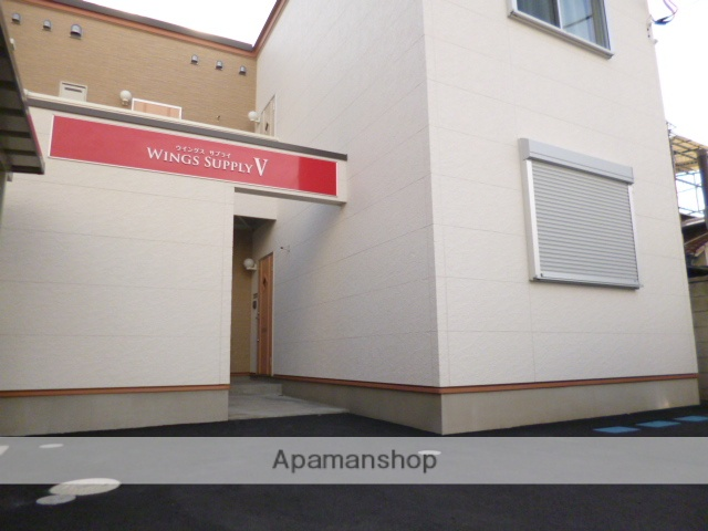 群馬県高崎市、高崎駅徒歩19分の築4年 2階建の賃貸アパート