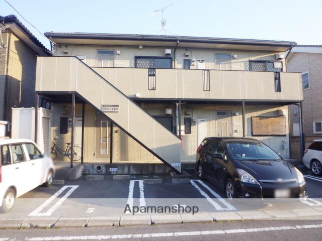群馬県高崎市、新前橋駅徒歩50分の築21年 2階建の賃貸アパート