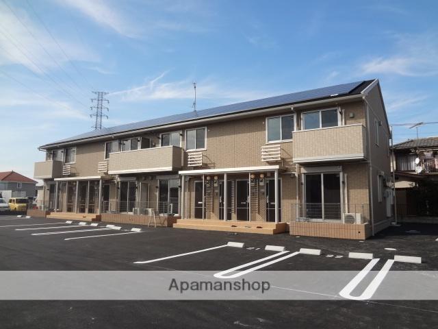 群馬県高崎市、倉賀野駅徒歩57分の築4年 2階建の賃貸アパート