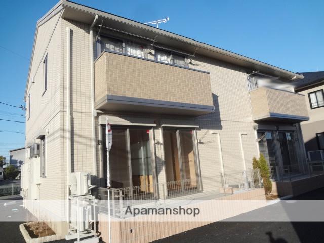 群馬県高崎市、新前橋駅徒歩28分の築3年 2階建の賃貸アパート