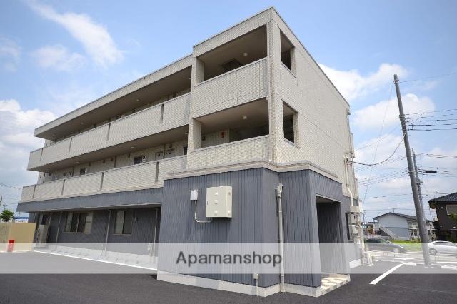 群馬県高崎市、井野駅徒歩16分の築3年 3階建の賃貸アパート