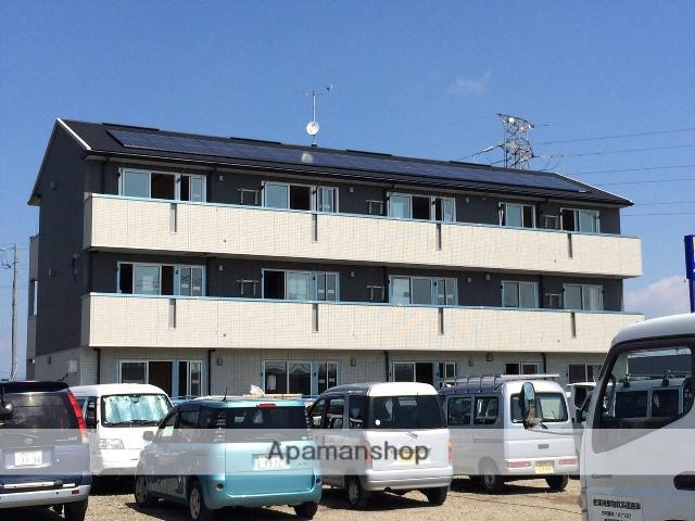 群馬県高崎市、井野駅徒歩19分の築2年 3階建の賃貸アパート