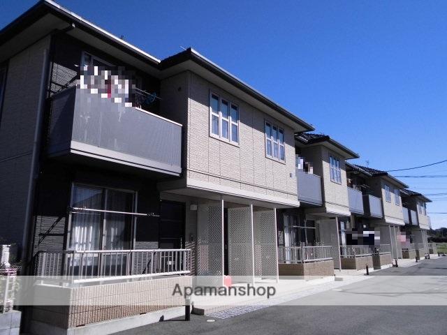 群馬県前橋市、前橋駅バス21分時沢学校前下車後徒歩13分の築8年 2階建の賃貸アパート
