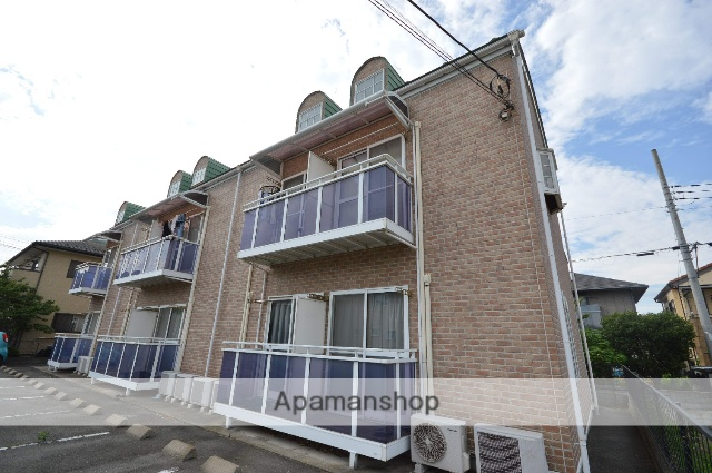 群馬県渋川市、八木原駅徒歩19分の築13年 2階建の賃貸アパート