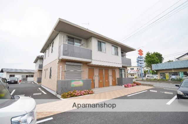 群馬県渋川市、八木原駅徒歩46分の築3年 2階建の賃貸アパート