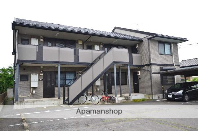 群馬県前橋市、前橋駅日本中央バスバス18分青柳下車後徒歩3分の築16年 2階建の賃貸アパート