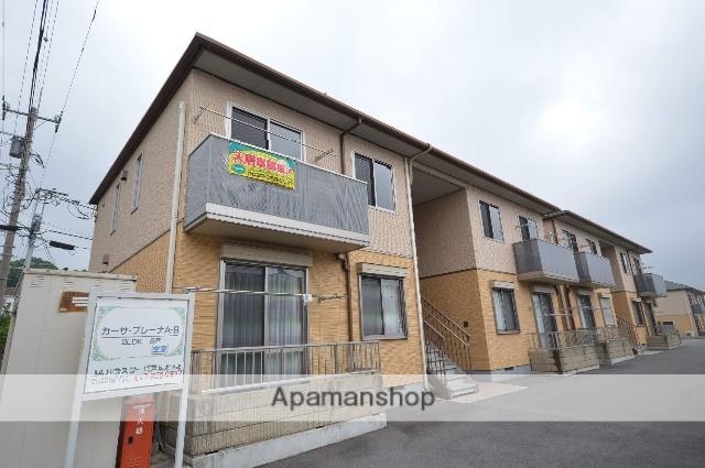 群馬県渋川市、金島駅徒歩14分の築9年 2階建の賃貸アパート
