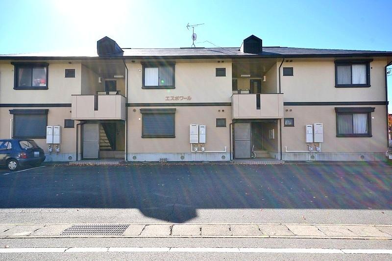 群馬県前橋市、新前橋駅徒歩14分の築22年 2階建の賃貸アパート
