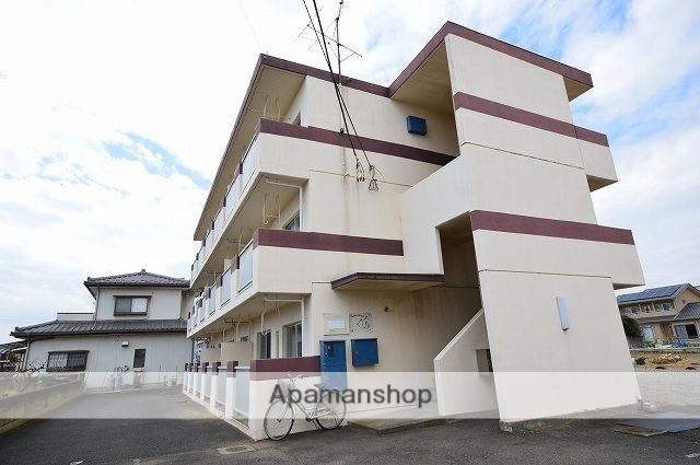 群馬県渋川市、八木原駅徒歩22分の築28年 3階建の賃貸マンション