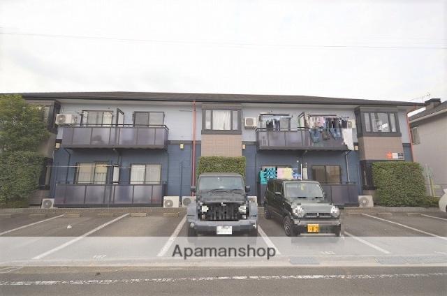 群馬県前橋市、群馬総社駅徒歩45分の築21年 2階建の賃貸アパート