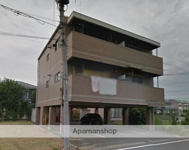群馬県前橋市、群馬総社駅徒歩45分の築18年 3階建の賃貸マンション