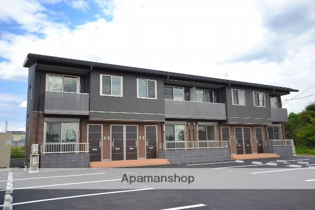 群馬県前橋市の新築 2階建の賃貸アパート