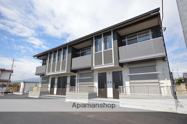 群馬県渋川市、八木原駅徒歩22分の新築 2階建の賃貸アパート