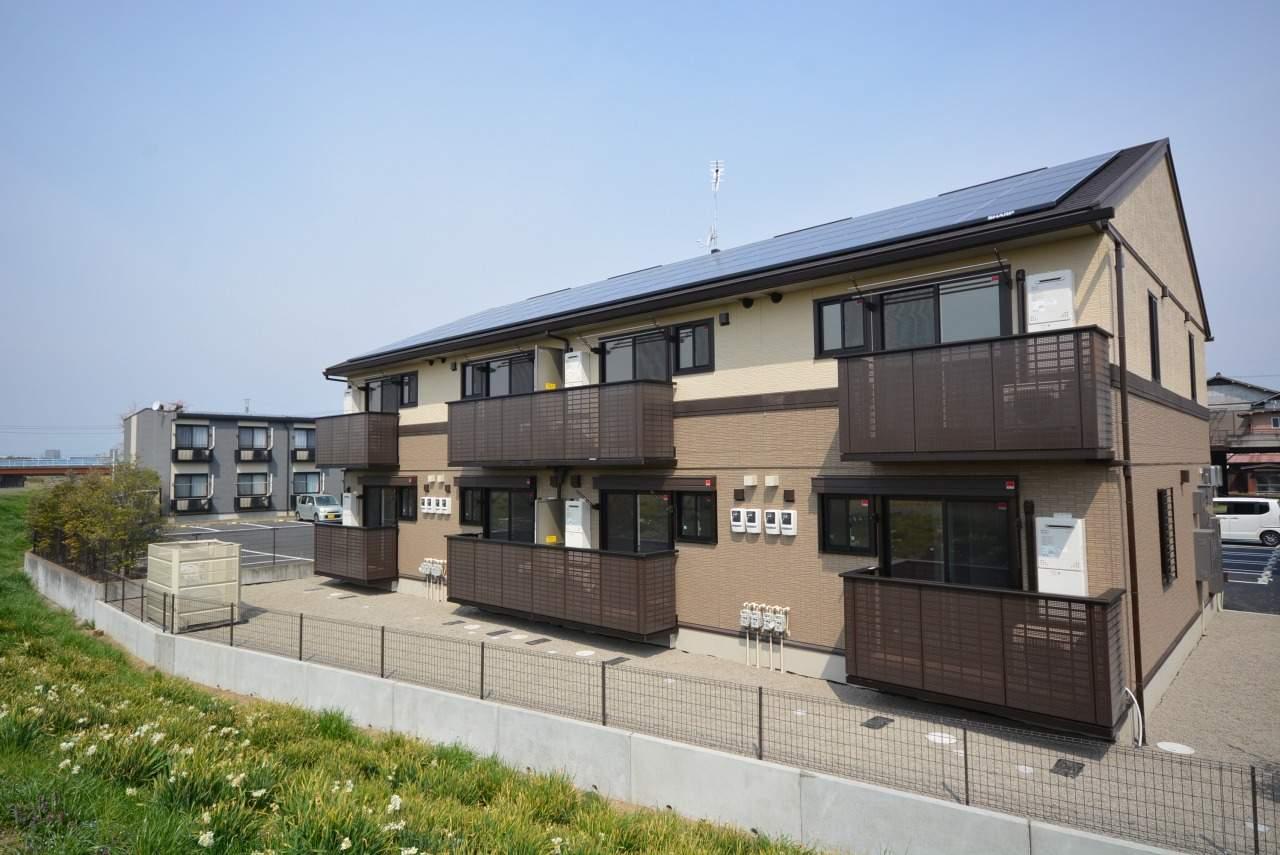 群馬県前橋市、三俣駅徒歩16分の新築 2階建の賃貸アパート
