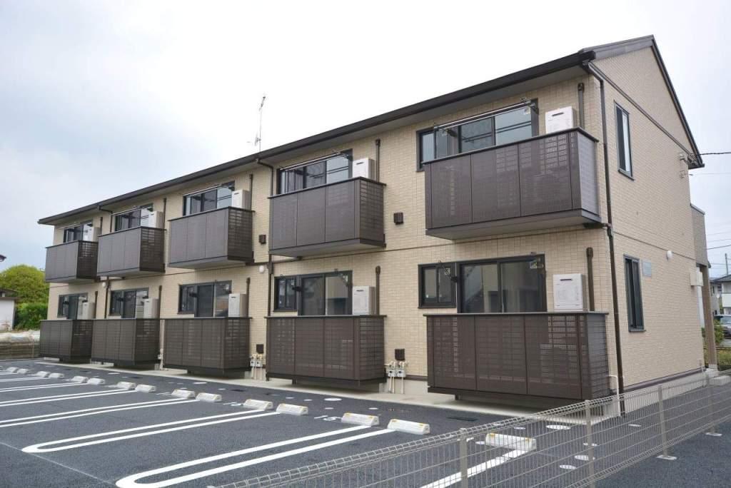 群馬県前橋市、群馬総社駅徒歩13分の新築 2階建の賃貸アパート