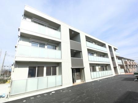 群馬県前橋市、群馬総社駅徒歩47分の新築 3階建の賃貸アパート
