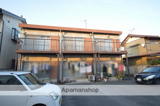 群馬県前橋市の築40年 2階建の賃貸アパート