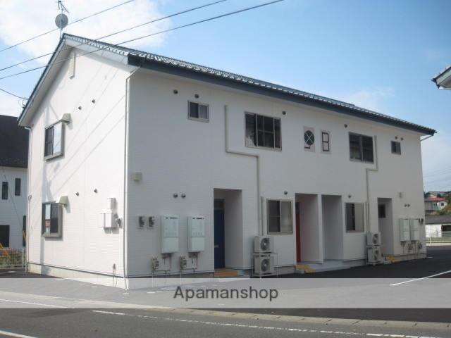 群馬県渋川市、渋川駅バス20分子持入口下車後徒歩11分の築8年 2階建の賃貸アパート