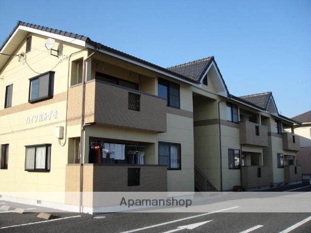 群馬県渋川市、渋川駅徒歩23分の築20年 2階建の賃貸アパート